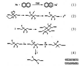 PTFE表面改性方法:钠一萘络合物化学
