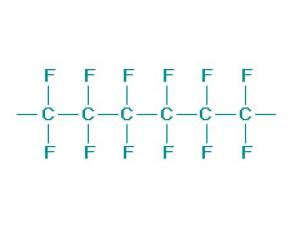 聚四氟乙烯(PTFE)的分子结构以及特点