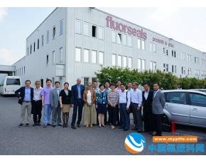 中国氟塑料加工代表团赴意大利等地考察