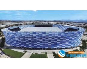 墨西哥建成世界最大ETFE膜外壁足球场